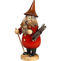 Smoker Rooty - Dwarf red  -  19cm / 7 inches