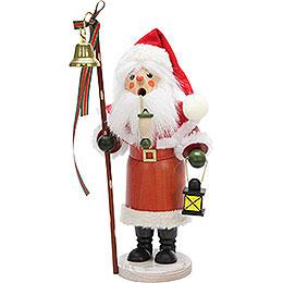 Smoker Santa Claus with lantern  -  30,5cm / 12inch