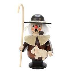 Smoker Shepherd  -  natural  -  10cm / 4 inch