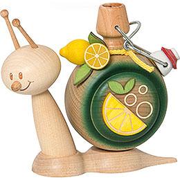 Smoker  -  Snail Sunny Lemonade Snail  -  16cm / 6.3 inch