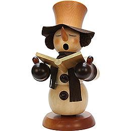 Smoker Snowman Singer natural  -  60cm / 24inch