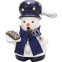 Smoker snowman baker  -  9,5cm / 3.7inch