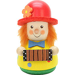 Teeter figure clown  -  7,6cm / 2.9inch