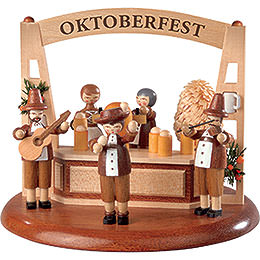 Theme platform for electr. Music Box  -  Oktoberfest  -  13cm / 5 inch