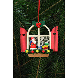Tree Ornaments Advent Window with Niko  -  7,6x7,0cm / 3x3 inch