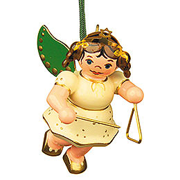 Tree ornament Angel with Triangle 6cm / 2,5inch