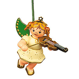 Tree ornament Angel with Violin 6cm / 2,5inch