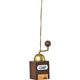 "Tree ornament ""Coffee mill""  -  6cm / 2.4inch"
