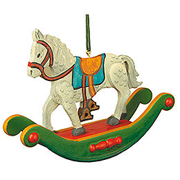 Tree ornament Rocking horse 7cm / 3inch