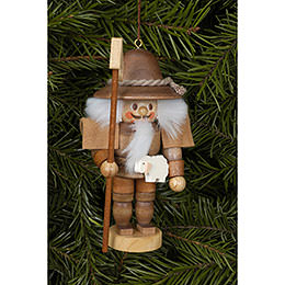 Tree ornament Shepherd natural  -  10,5cm / 4 inch