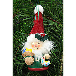Tree ornament Teeter man Santa Claus  -  12,5cm / 3inch