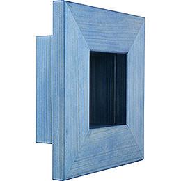 Wall frame blue  -  23x23x8cm / 9.1x9.1x3.2inch