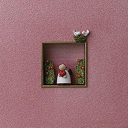 """Wandbild """"Für Liebende""""  -  18x18x5cm"""