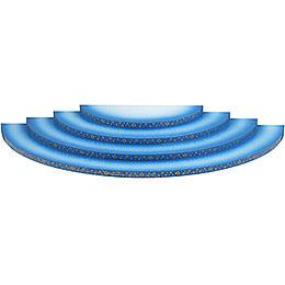 Wolke 4 - stufig blau - weiß  -  43cm