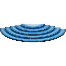Wolke 5 - stufig blau - weiß  -  51cm