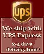 We ship worldwide with DHL